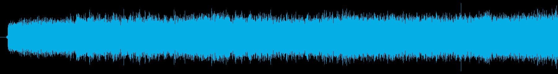 吸い込み音の再生済みの波形