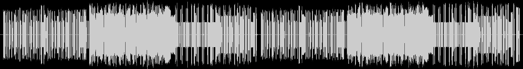 コミカルで怪しい8bitストレンジの未再生の波形
