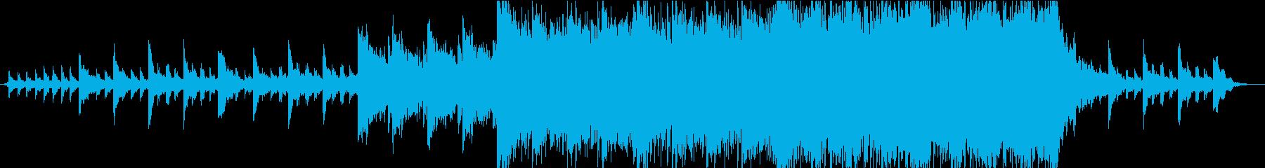 緊張怖い闇スコア。の再生済みの波形