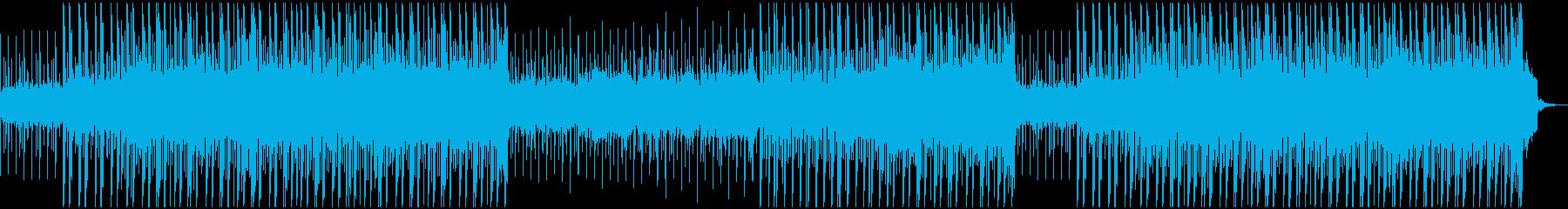 メロディックなエレクトロアンビエン...の再生済みの波形