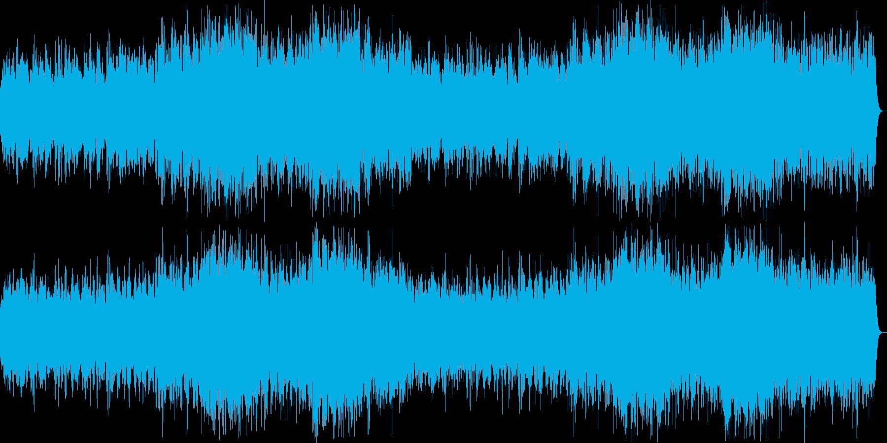 オーケストラを背に和楽器が織り成す癒しの再生済みの波形