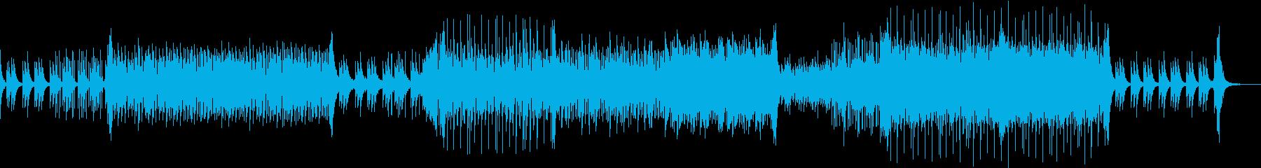 落ち着いた雰囲気のトロピカルハウスの再生済みの波形