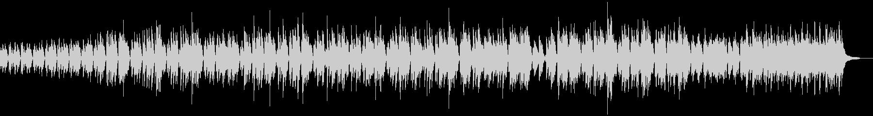 ピアノと木琴のミニマルミュージック/芸術の未再生の波形