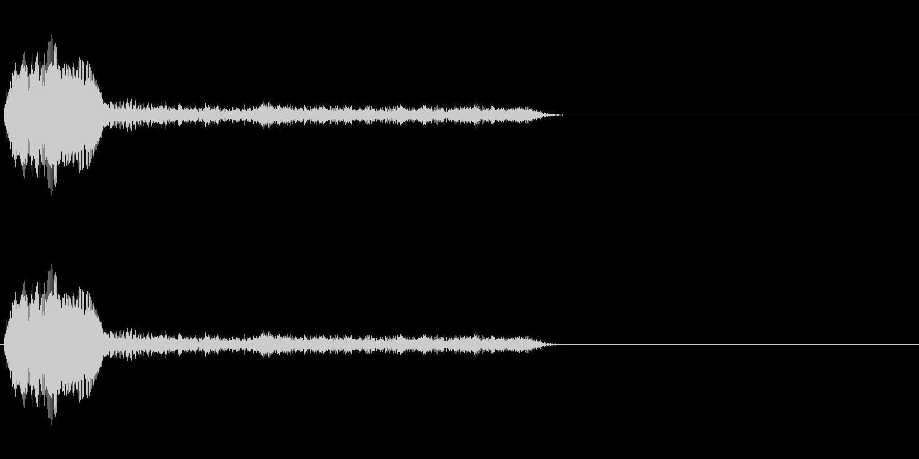 SF系ワンショット(ワギャワギャ)の未再生の波形
