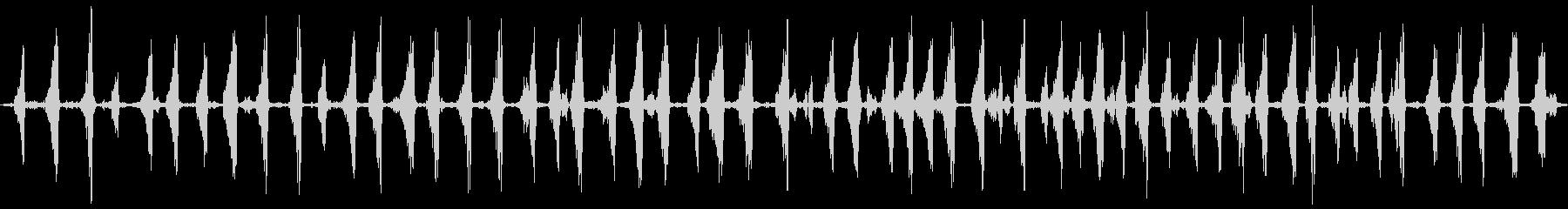 イイジマムシクイのさえずり(長め)の未再生の波形