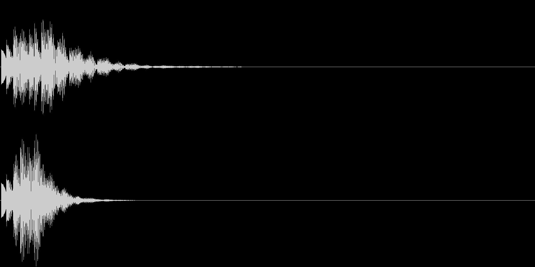 ひらめき 獲得 ゲット 入手 キラリン4の未再生の波形