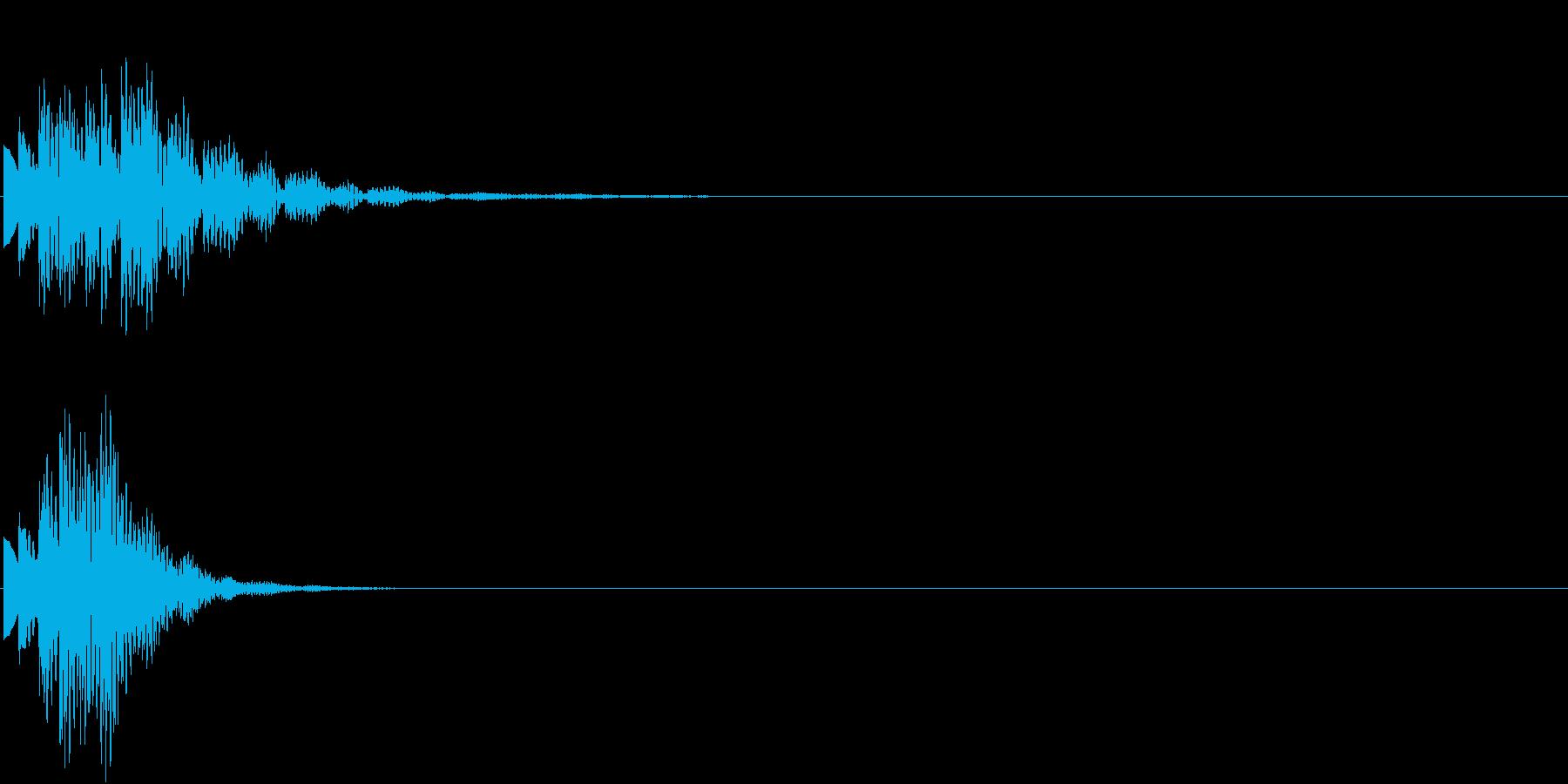 ひらめき 獲得 ゲット 入手 キラリン4の再生済みの波形