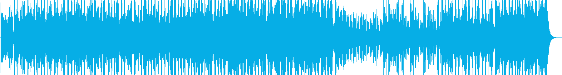 タイムラプス映像向け濃厚なアブストラクトの再生済みの波形