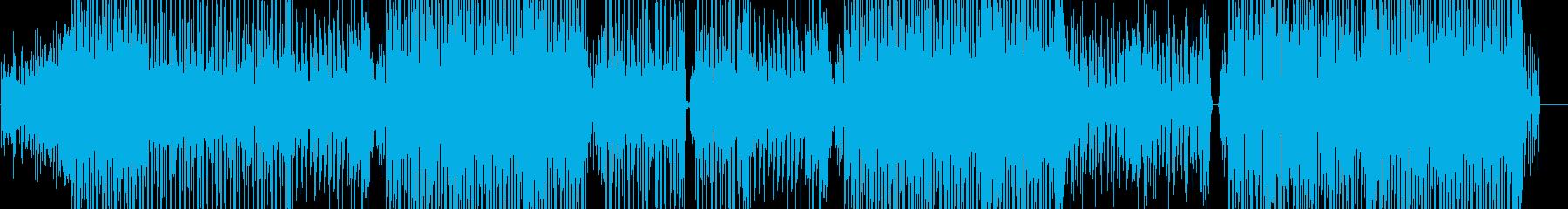 ハッピーなラテンダンストラック♬の再生済みの波形
