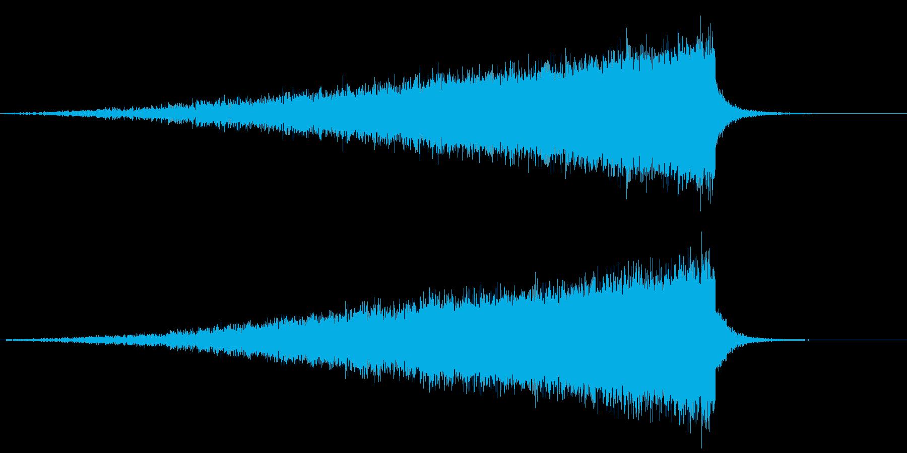 【ライザー】22 SFサウンドの再生済みの波形