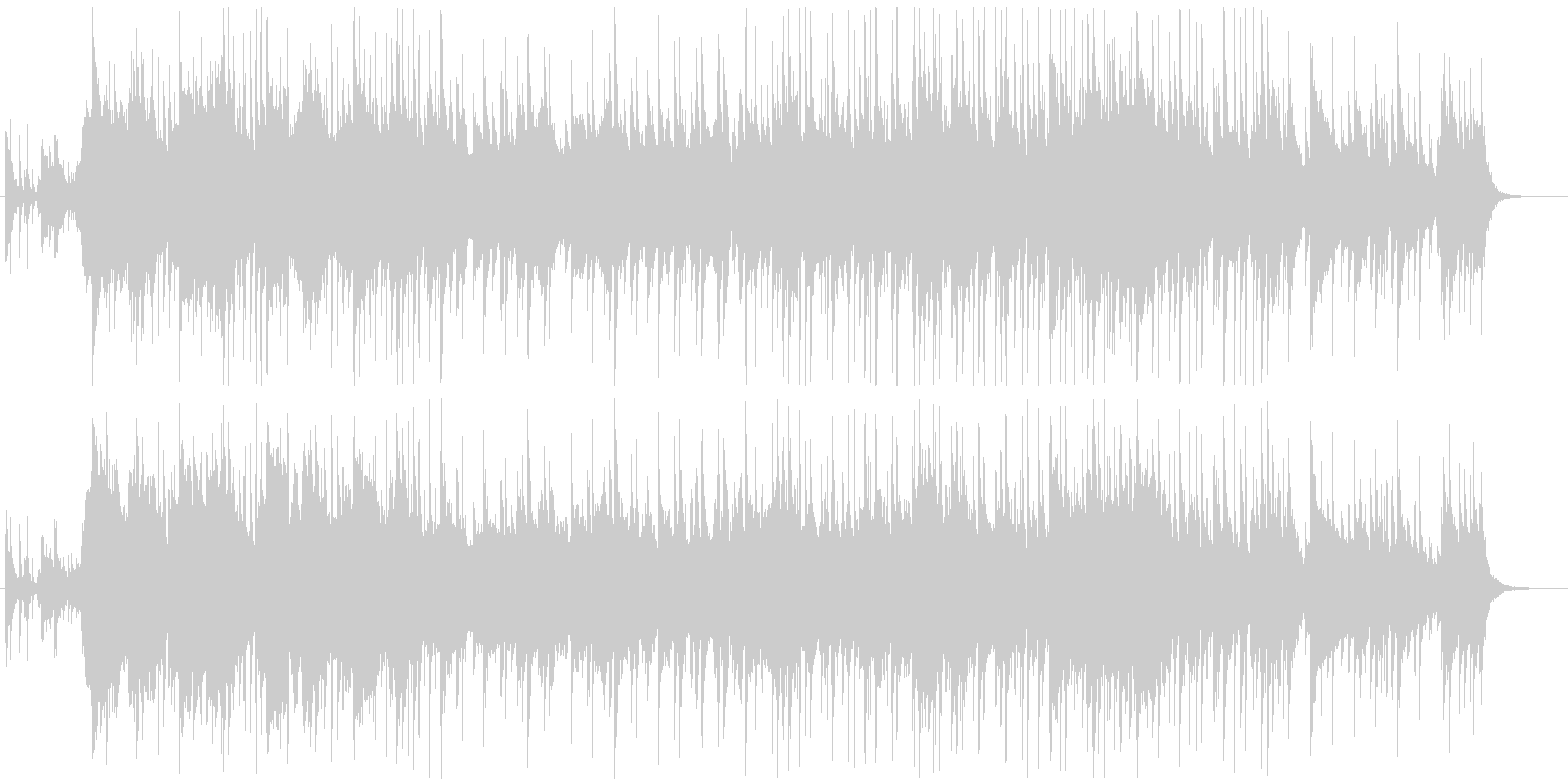和風VP系4、美しい、ノスタルジックBの未再生の波形