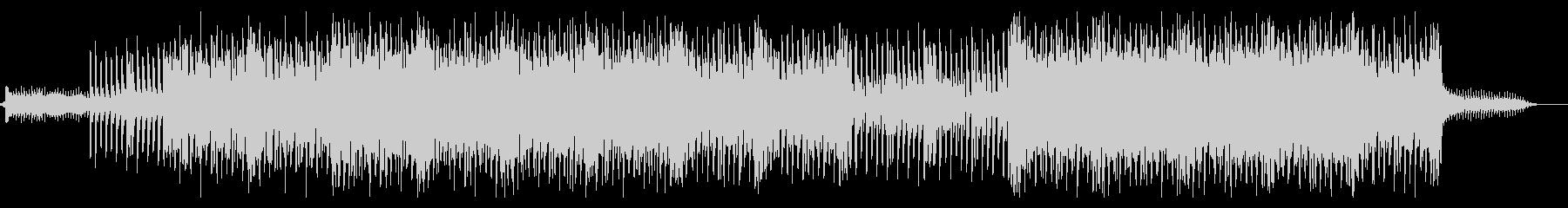 16ビートのシンセリードがリフのBGMの未再生の波形