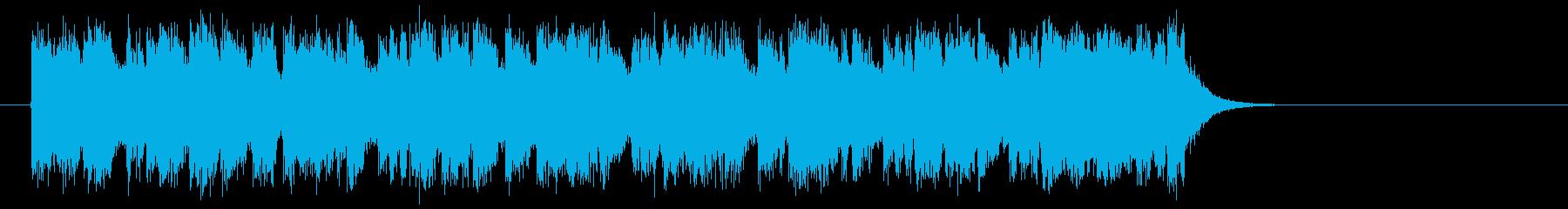 勇者のオーケストラ風音楽(イントロ)の再生済みの波形
