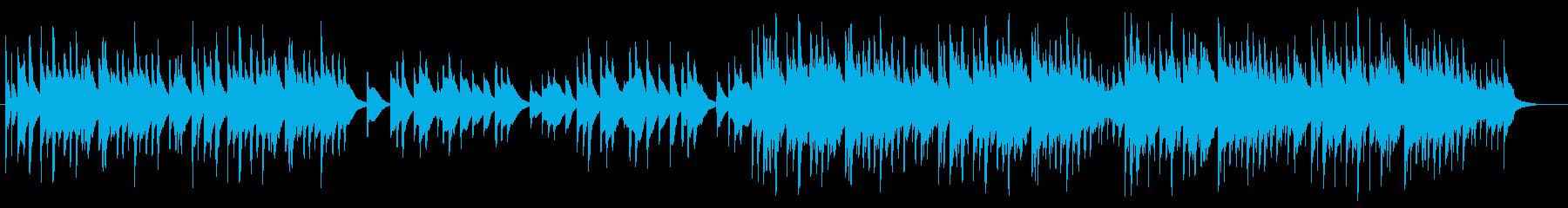 琴が印象的な夏を感じる和風BGMの再生済みの波形