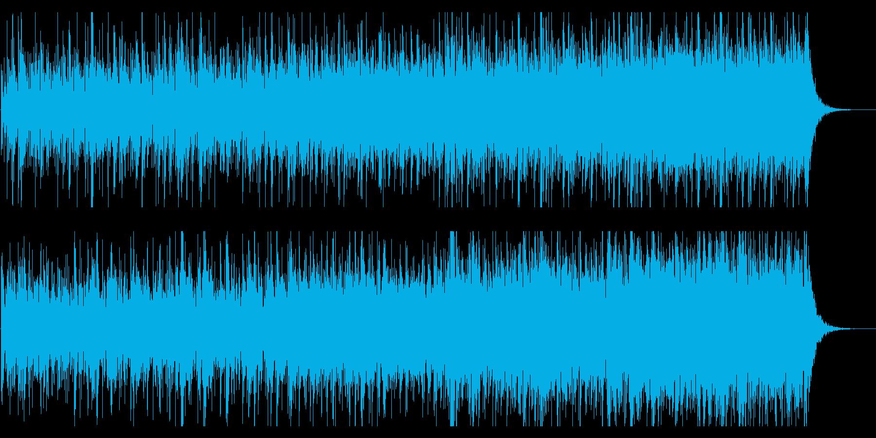 不思議でかわいくポップなBGMの再生済みの波形