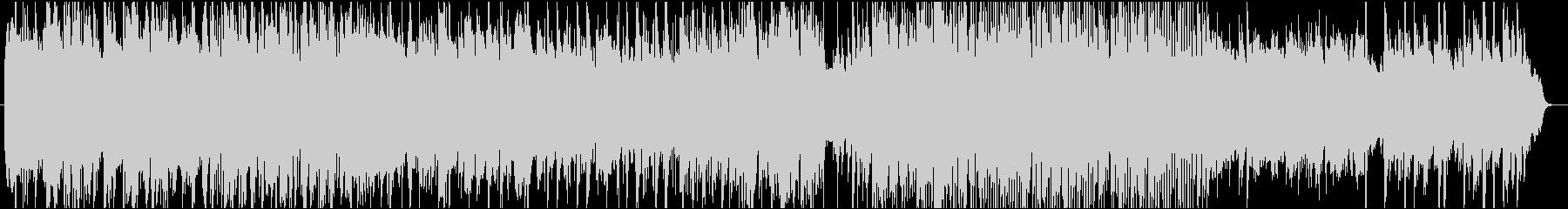 叙情的で牧歌的なクラシックBGMの未再生の波形