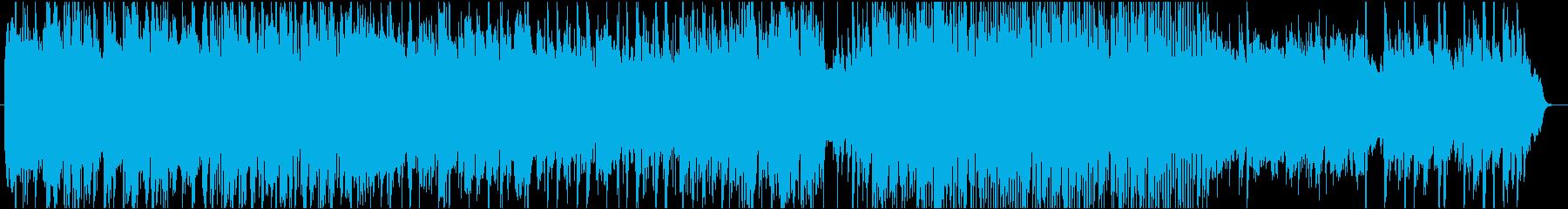 叙情的で牧歌的なクラシックBGMの再生済みの波形