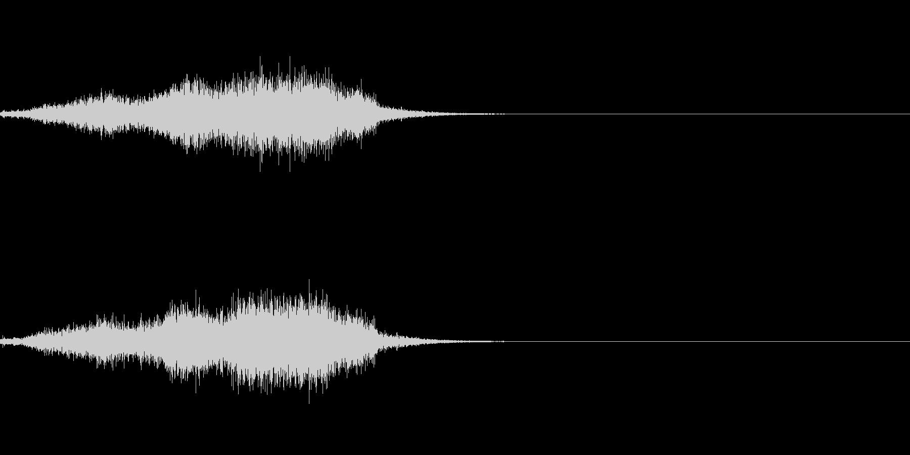 シュー(空気、蒸気、ガス)その5の未再生の波形