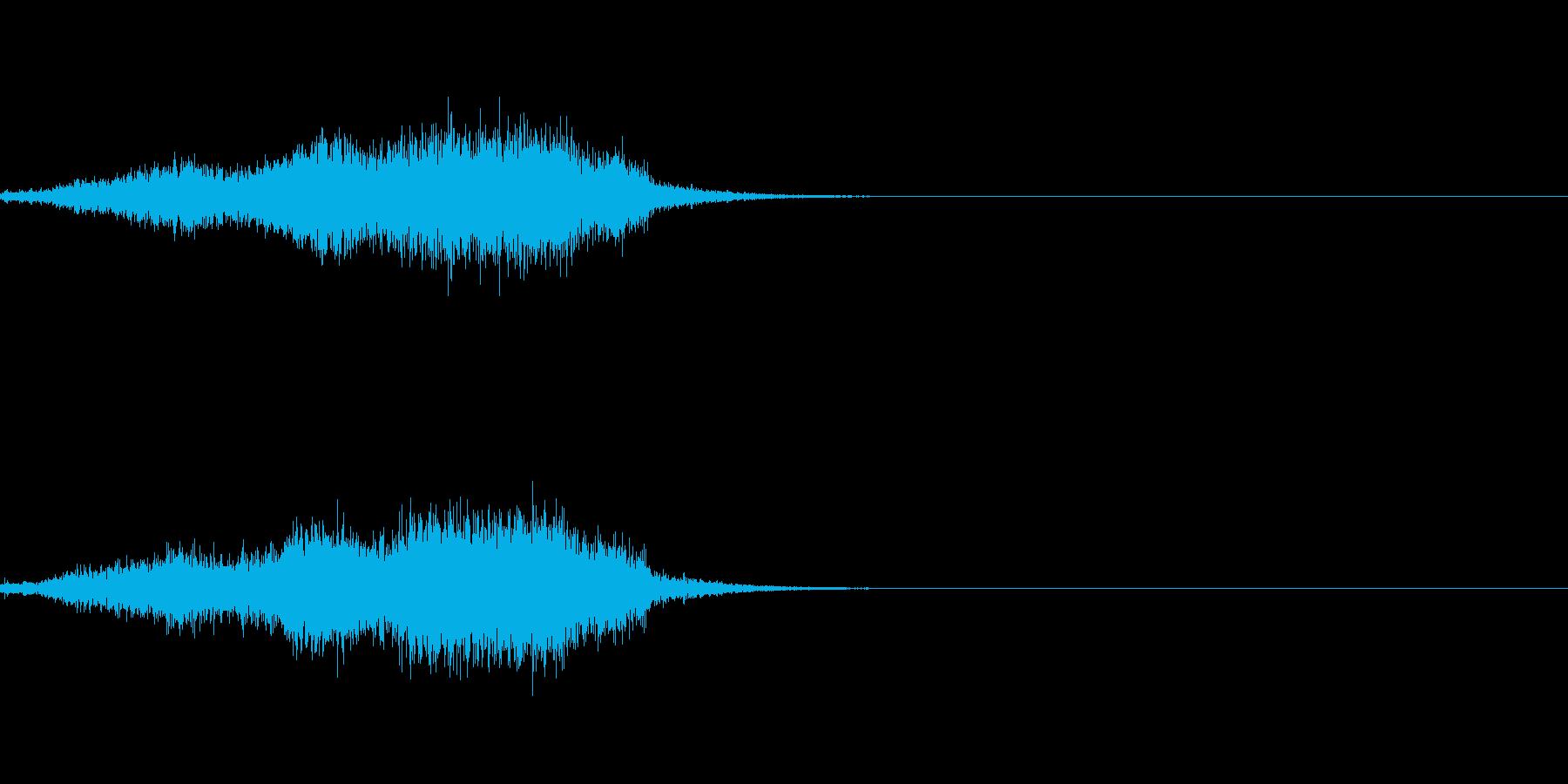 シュー(空気、蒸気、ガス)その5の再生済みの波形