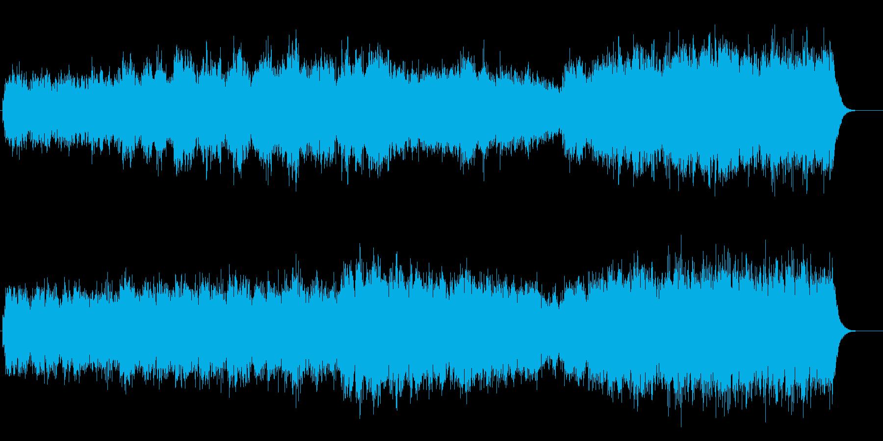 静かなヨーロッパ的ドキュメンタリーアンビの再生済みの波形