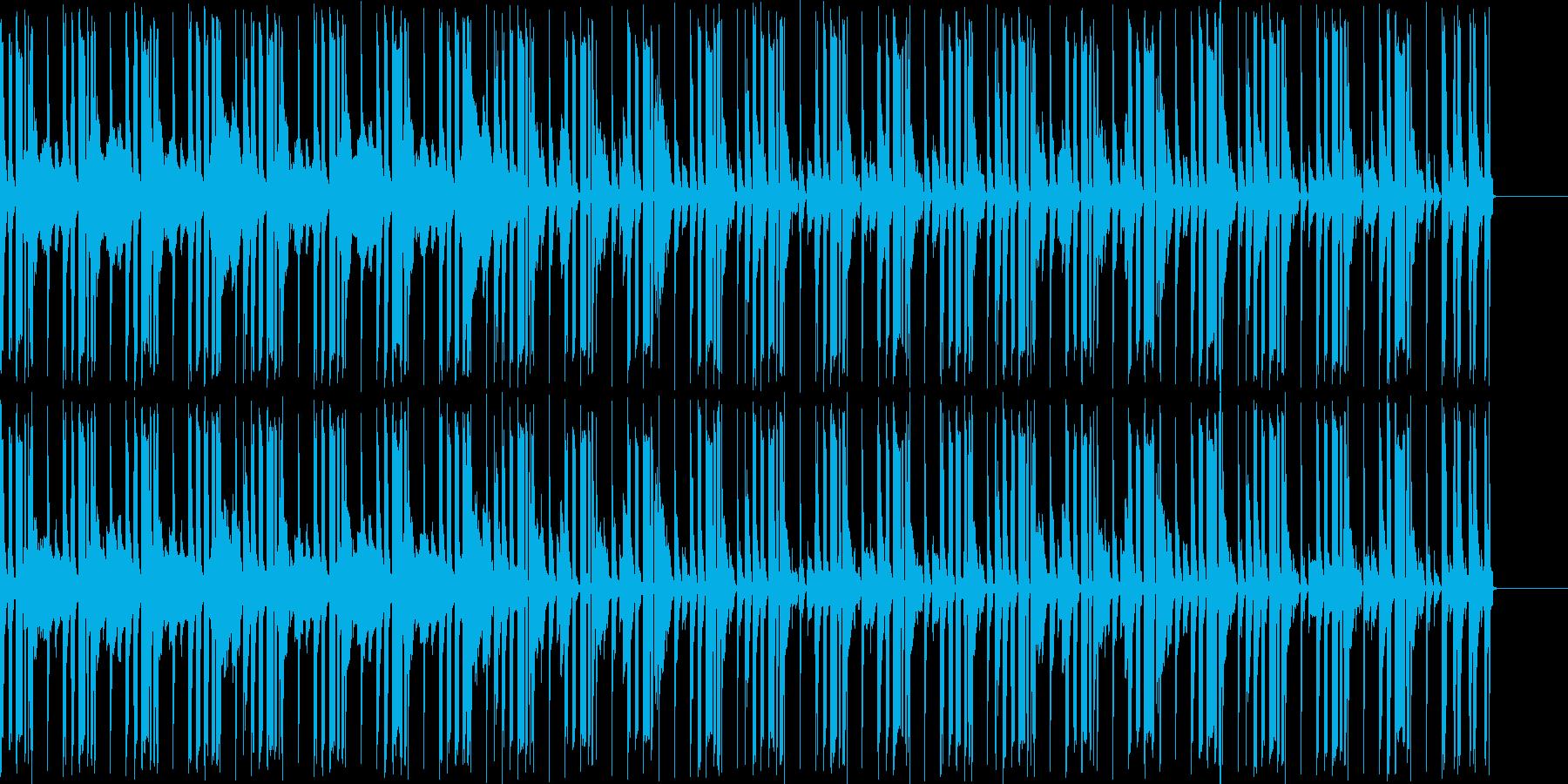 マリンバのループ、宣伝・紹介動画などにの再生済みの波形