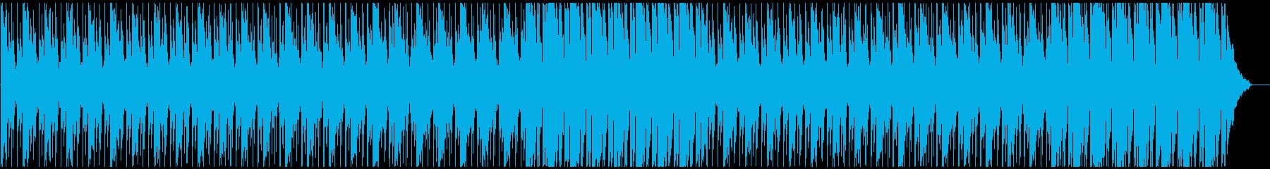 企業VPに 穏やか・温かい ピアノメインの再生済みの波形