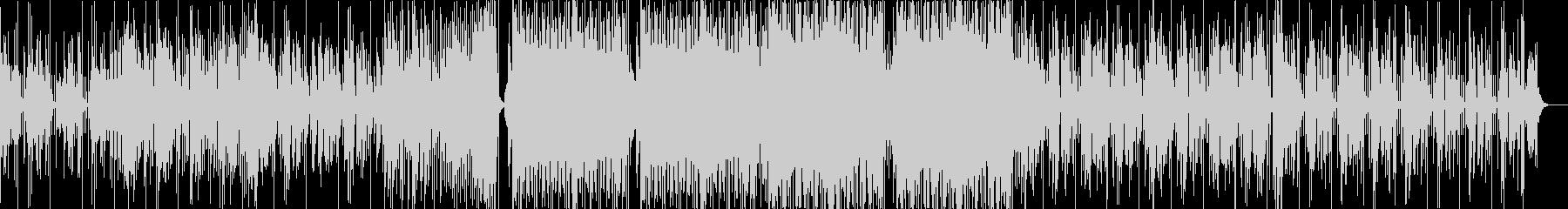 低音が響くJuke、シカゴフットワークの未再生の波形