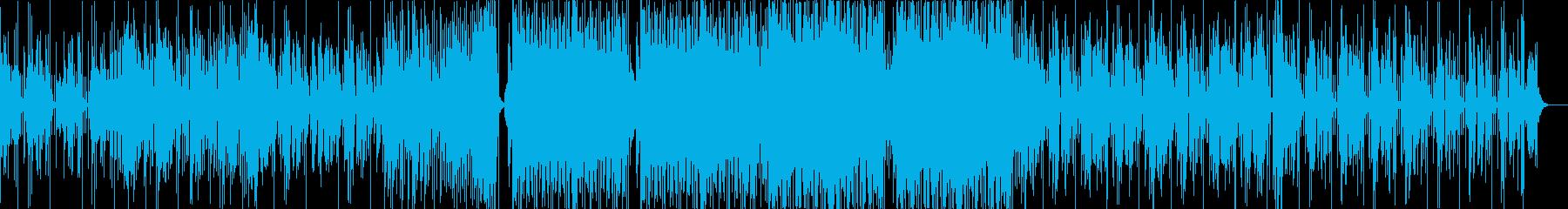 低音が響くJuke、シカゴフットワークの再生済みの波形