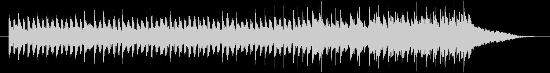 30秒程度のBGM素材です。1分バージ…の未再生の波形