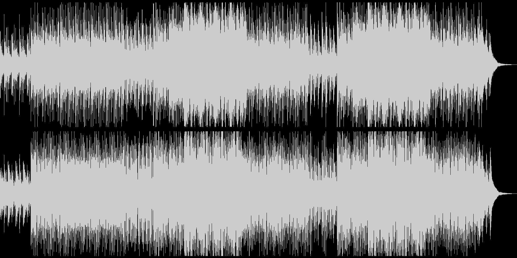 怪しさと陽気さが混在したハロウィンBGMの未再生の波形