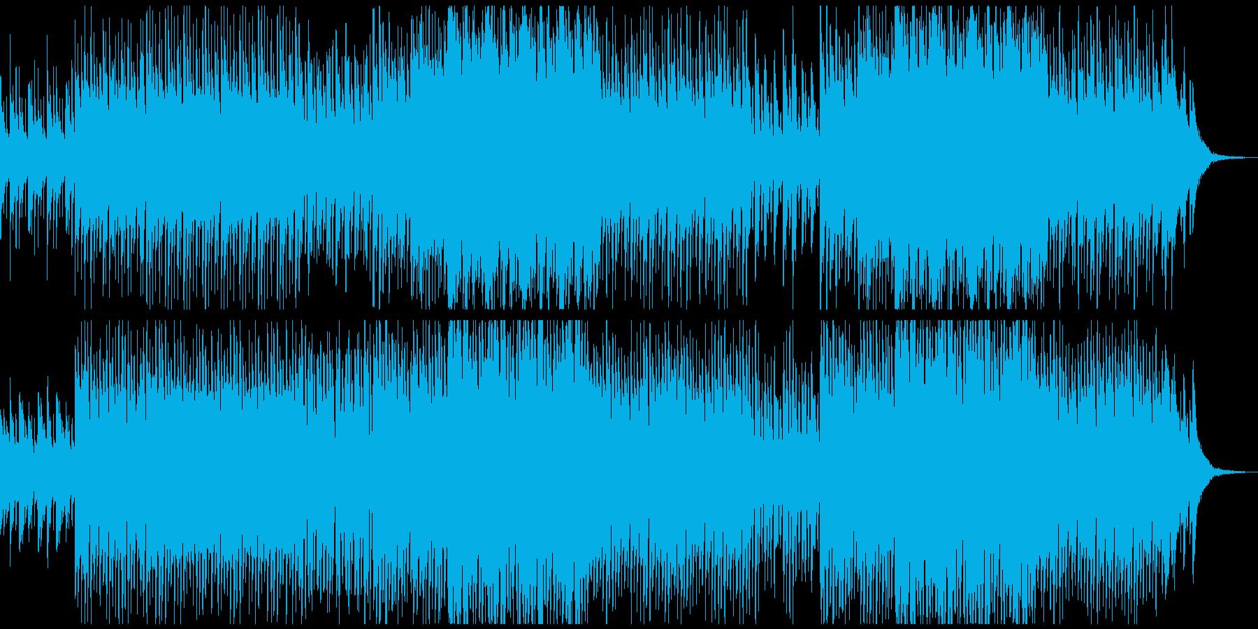怪しさと陽気さが混在したハロウィンBGMの再生済みの波形