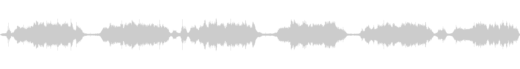 【ASMR】〜雨の日〜道路収録_0001の未再生の波形