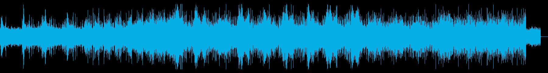不思議な異次元のようなアンビエントの再生済みの波形