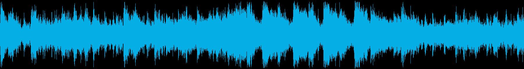 絶望的な危機と恐怖【ループ再生用】の再生済みの波形