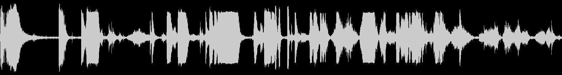 メタルグリッドスクレイプキーキーの未再生の波形