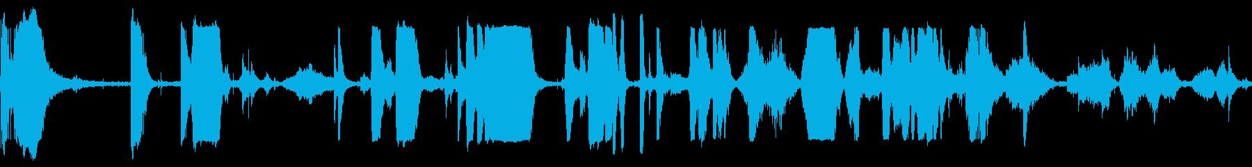 メタルグリッドスクレイプキーキーの再生済みの波形