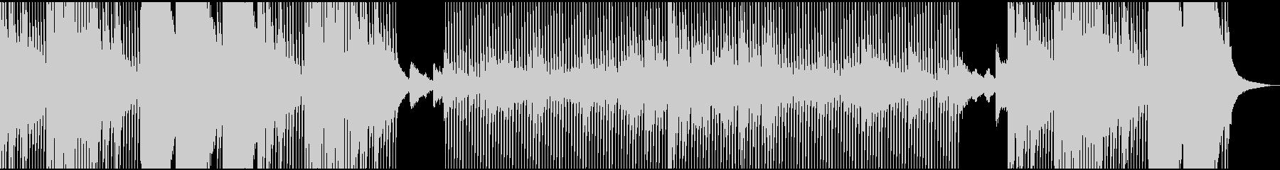 サイケなテクノ(オープニングテーマ)の未再生の波形