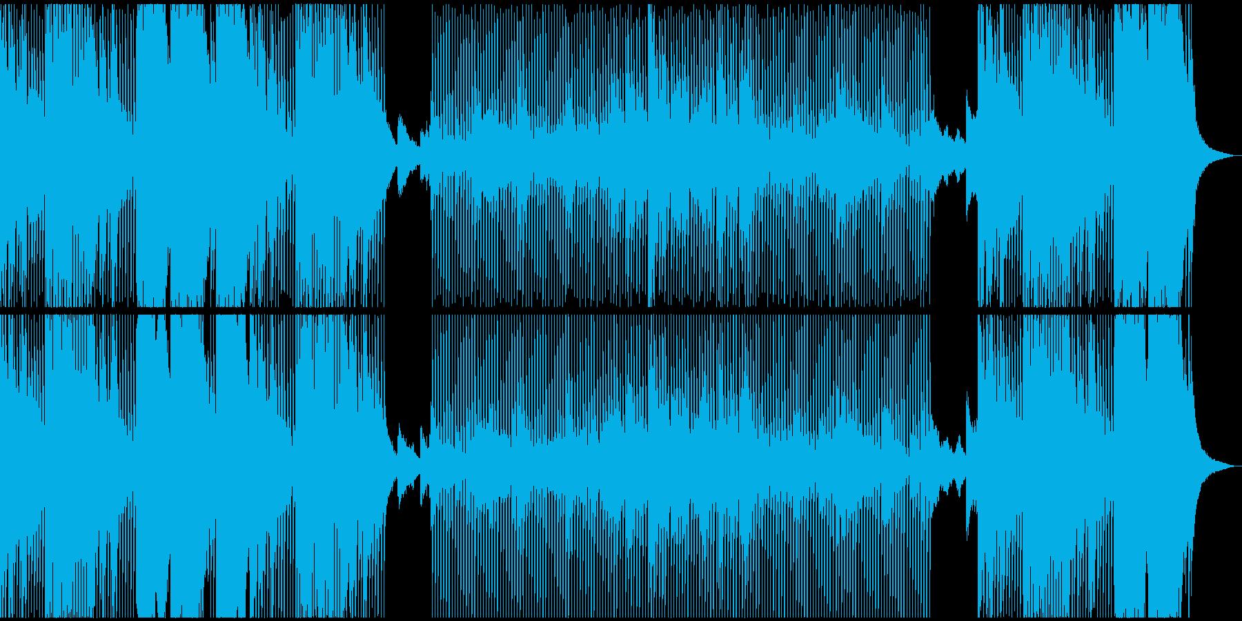 サイケなテクノ(オープニングテーマ)の再生済みの波形