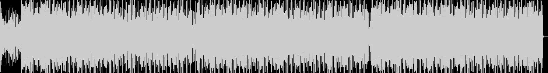 映像によく合うさわやかで前向きなBGMの未再生の波形