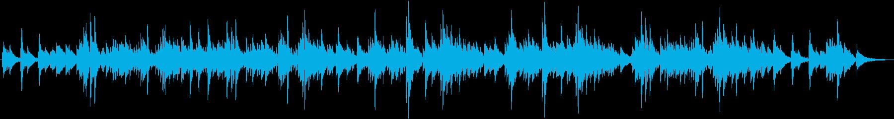 沖縄風ヒーリング曲をギターデュオ生演奏での再生済みの波形