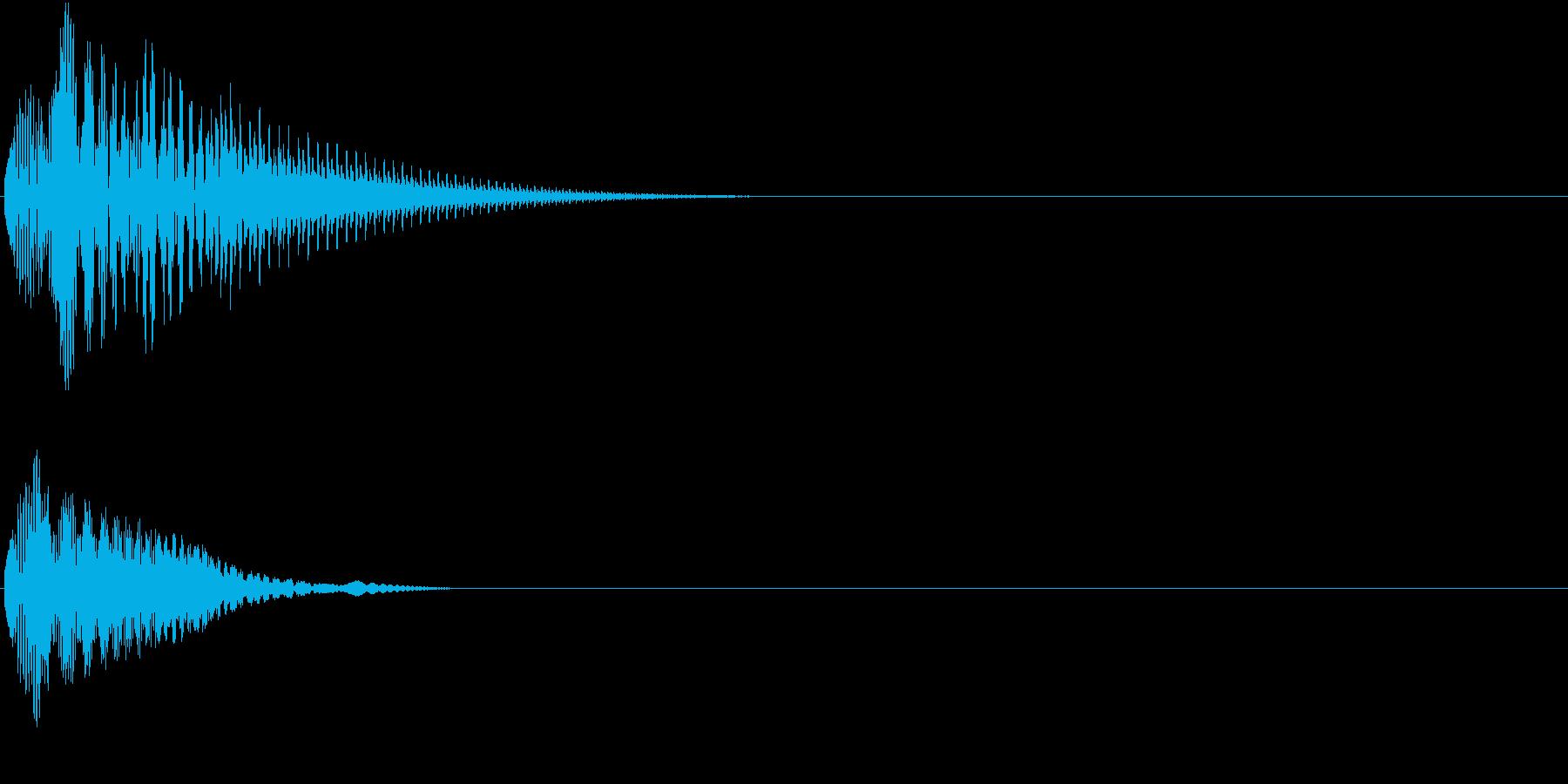 Baby 幼児玩具向け可愛い電子音10の再生済みの波形