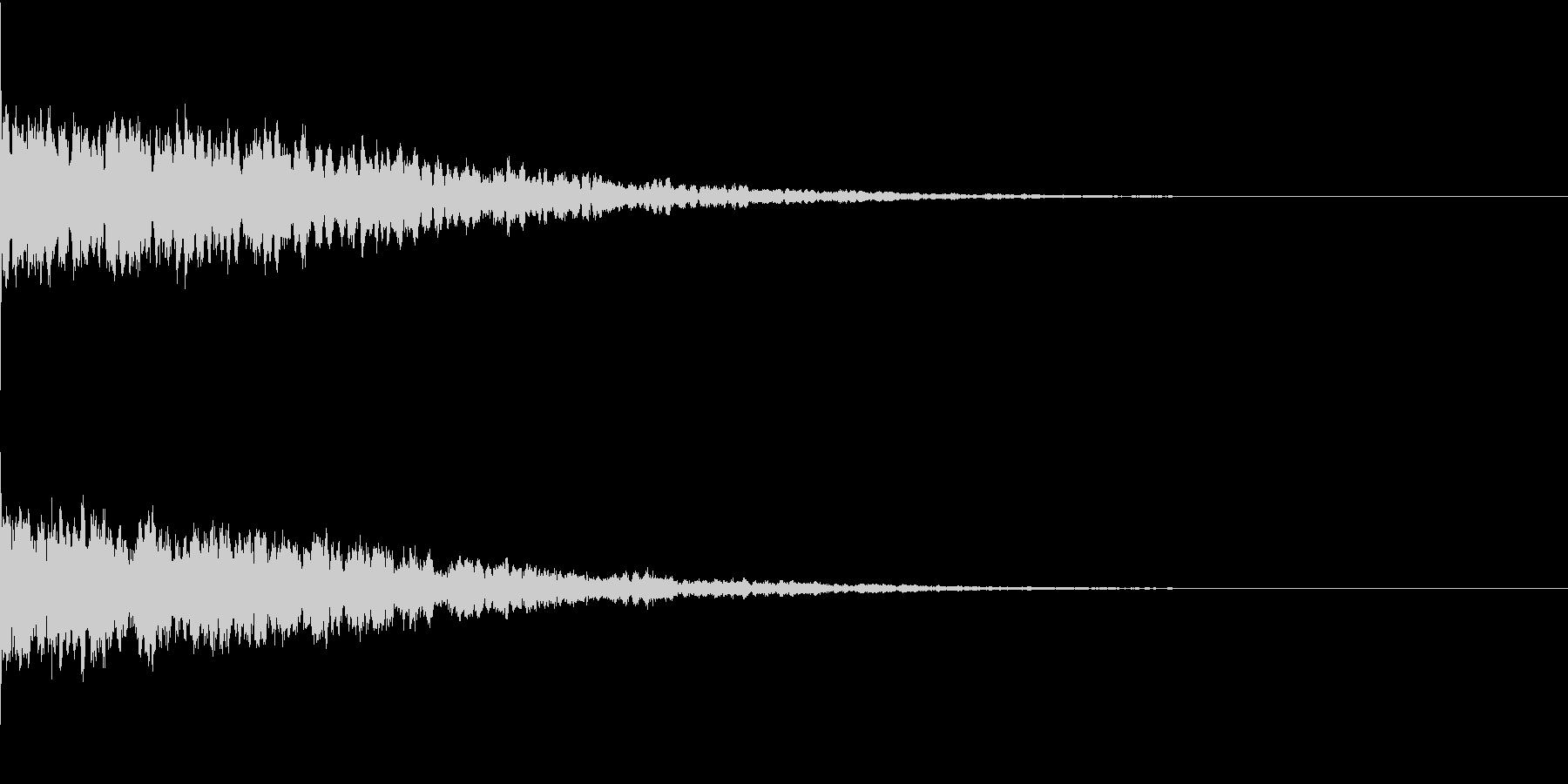 違和感、不穏、不気味な不協和音-C1の未再生の波形