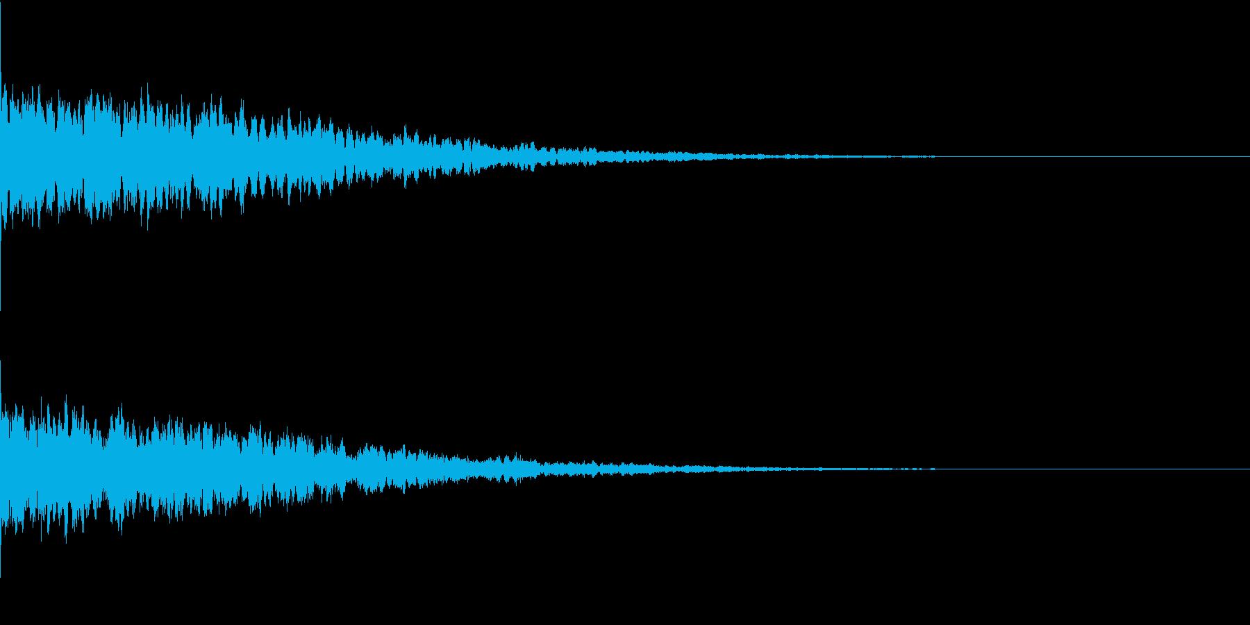 違和感、不穏、不気味な不協和音-C1の再生済みの波形