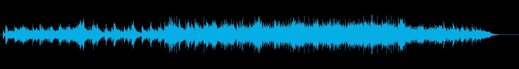 ピアノが美しいニューミュージックの再生済みの波形