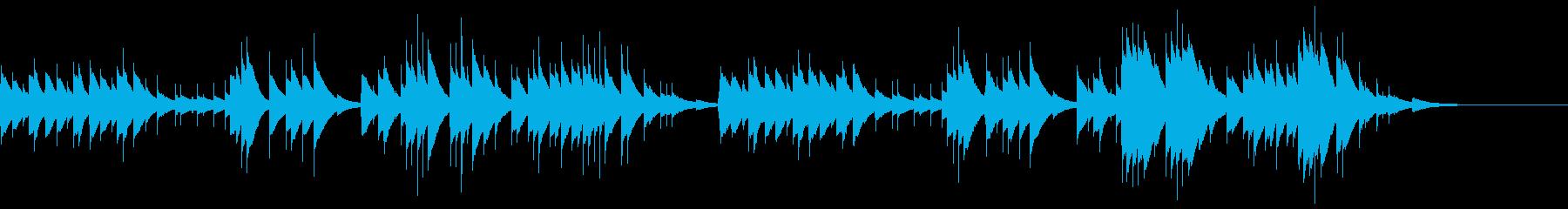 オルゴールソロによる穏やかな曲です。色…の再生済みの波形