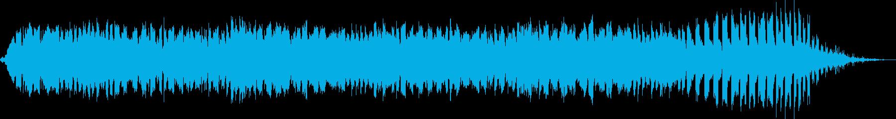 狂気のホラーアンビエントの再生済みの波形