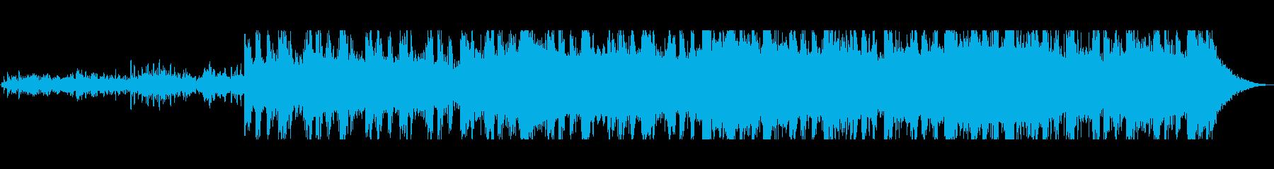 重厚感のあるエレクトロの再生済みの波形