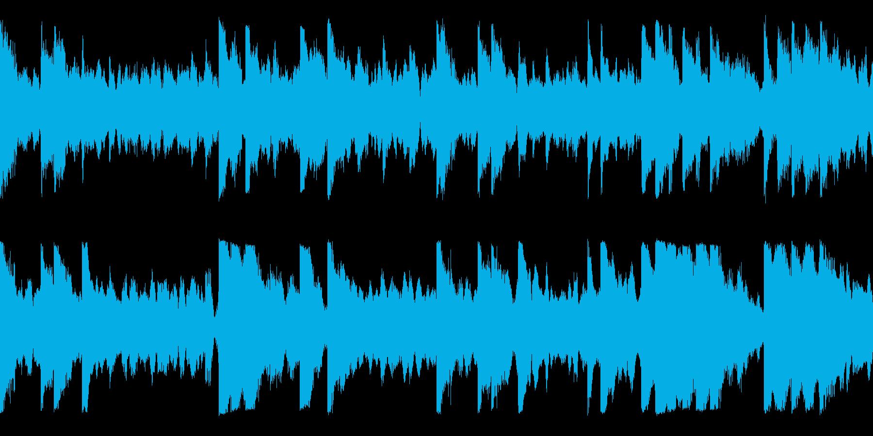 柔らかく繊細せ落ち着いたサウンドの再生済みの波形