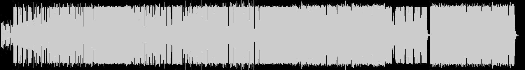 リラクゼーションなポップス曲の未再生の波形