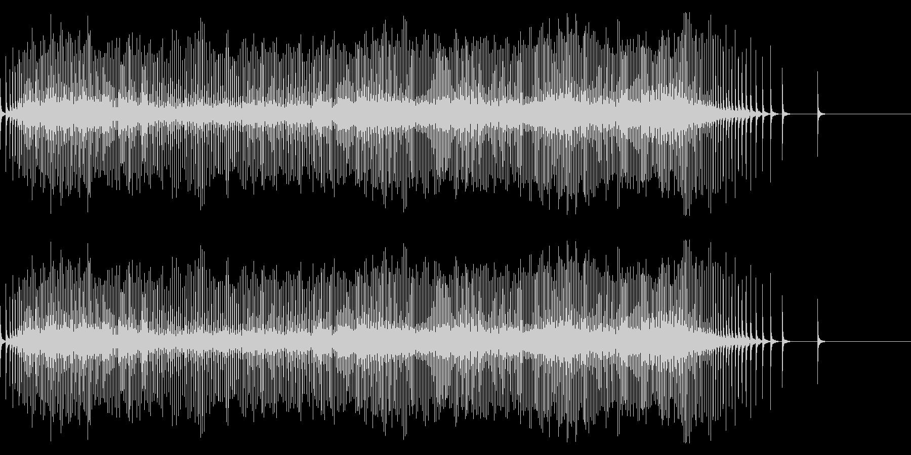 【生録音】リールの音 魚釣り 6の未再生の波形